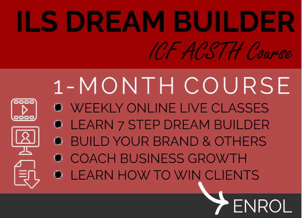 COURSE - ILS Dream Builder Coach Course