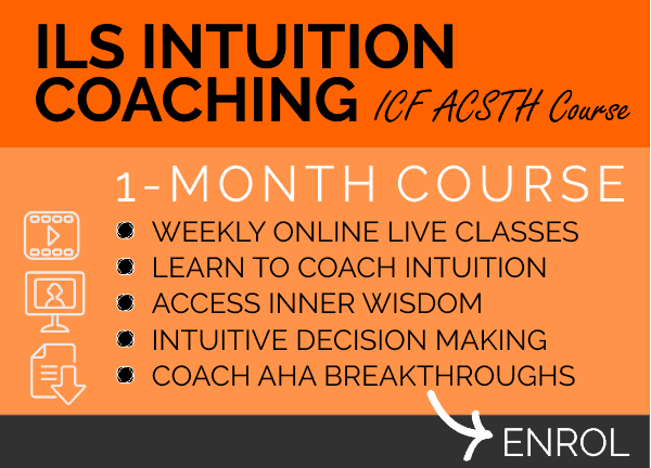 COURSE - ILS Intuition Coaching Course