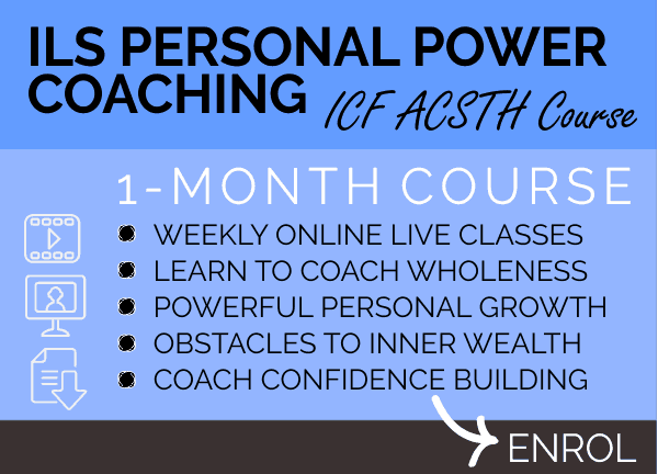 COURSE - ILS Personal Power Coaching Course