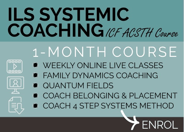 COURSE - ILS Systemic Coaching Course