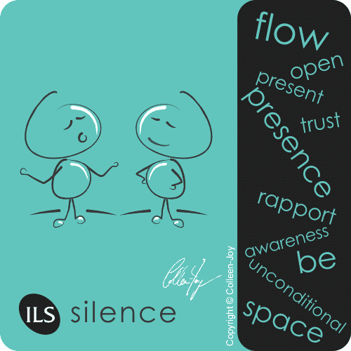 Use silence in communication
