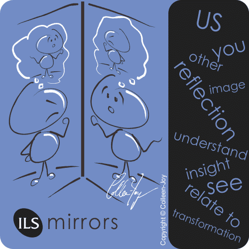 Relationships are like mirrors