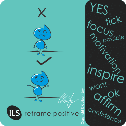 How to reframe from negative to positive
