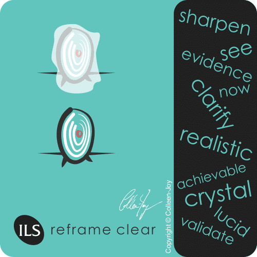 Reframe from unclear to clear