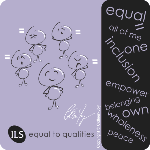 Learn the Equal to Qualities wholeness method