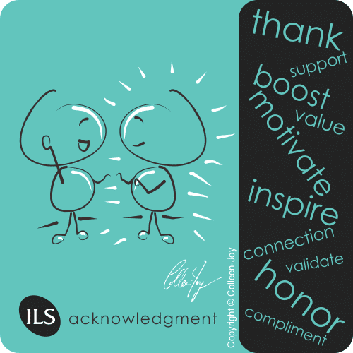 How to offer acknowledgement