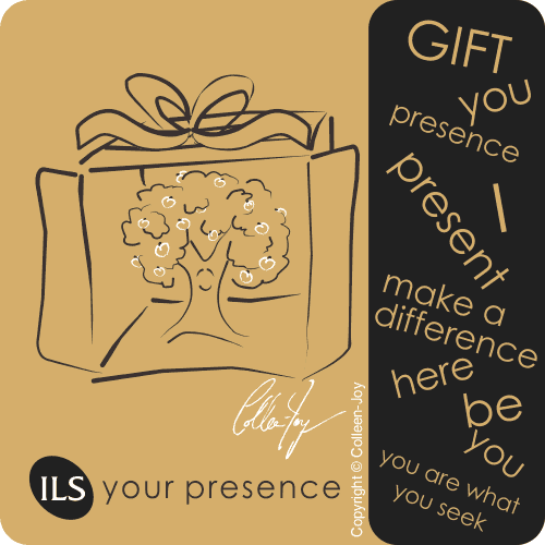 Your presence is the gift