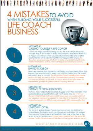 4 biggest mistakes new life coaches make