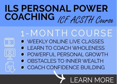 ILS PERSONAL POWER coaching course learn more