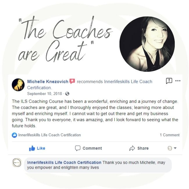 Online Certification to become a life coach review