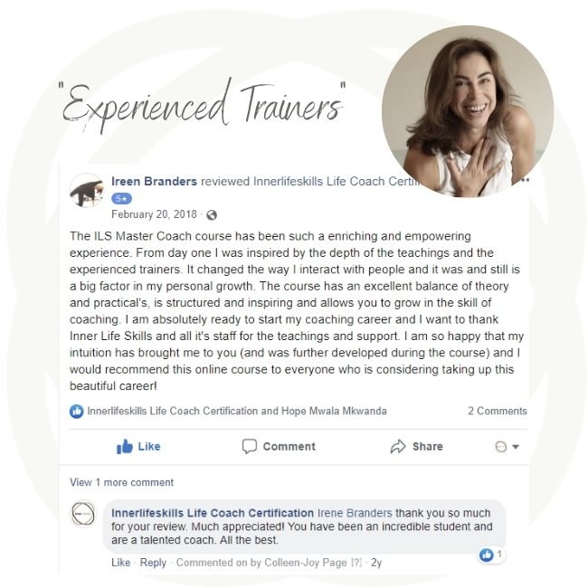 Reviews for ILS Lilfe Coach Master Certification