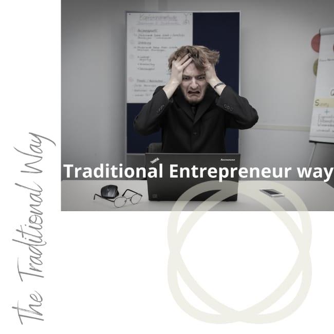 Traditional Entrepreneur way