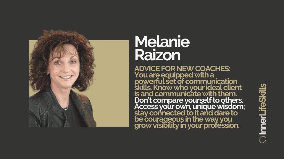 Master Coach case study Melanie Raizon