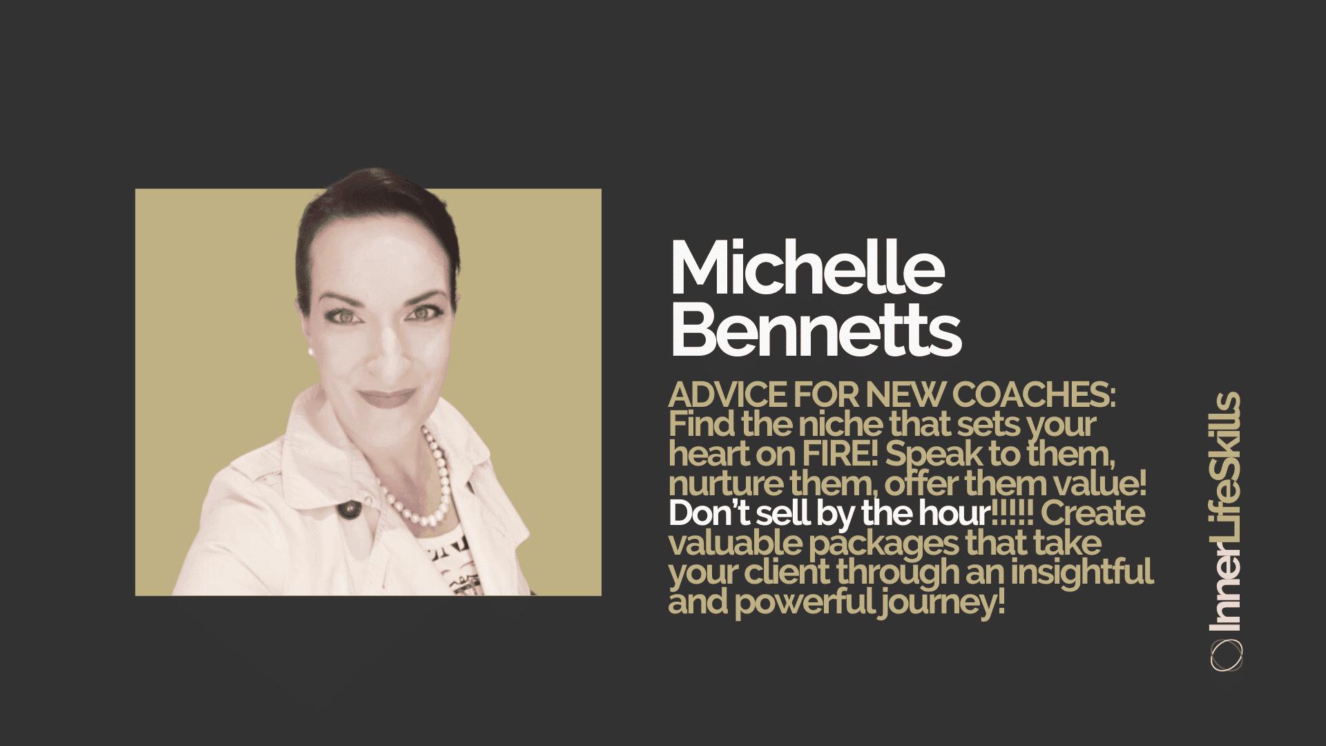 Michelle Bennetts master coach case study
