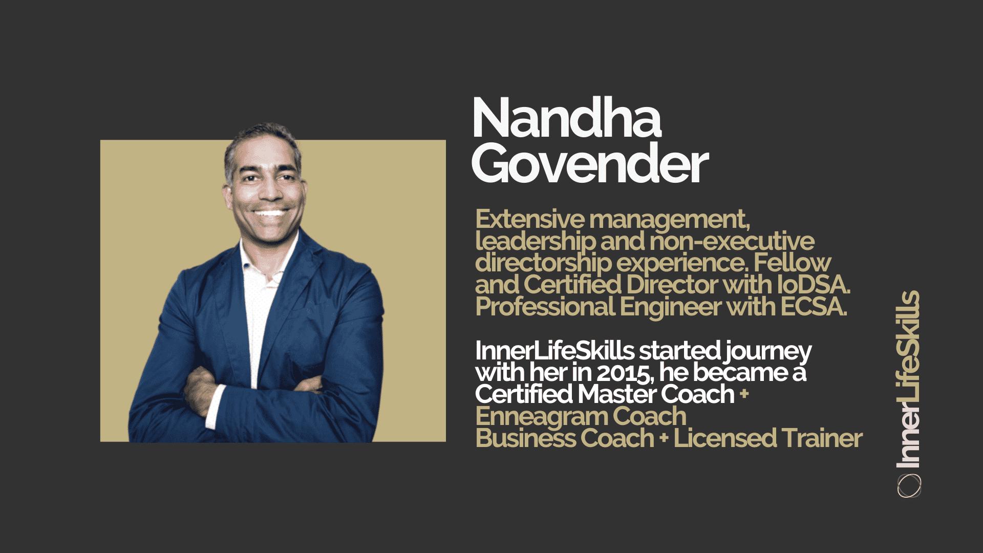 Nandha Govender Case Study Info