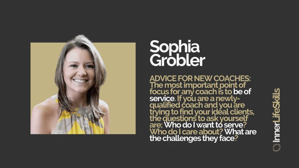 Top Master Coach Sophia Grobler Case Study